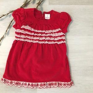 {Hanna Andersson} Red corduroy dress, 80 cm 18-24m